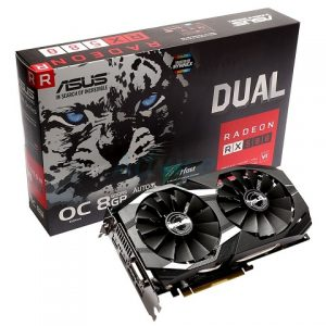 ASUS Dual fan graphics card